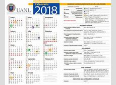 Calendario UANL Facultad de Ciencias Químicas
