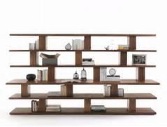 Unique Design Of Criss Cross Bookshelf With White Wall  Stroovi