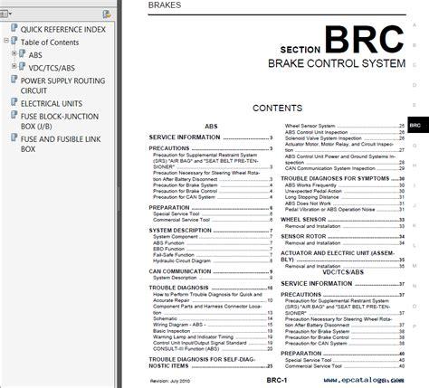 online car repair manuals free 2002 nissan sentra interior lighting nissan sentra model b16 series 2011 service manual pdf