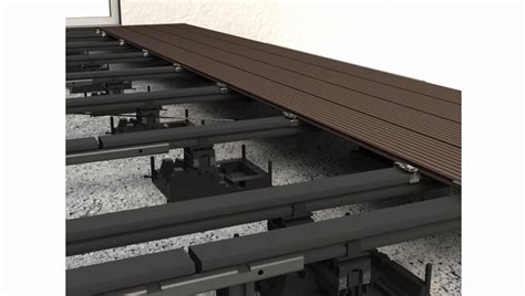 aufbau wpc terrasse megawood wpc terrassendielen verlegevideo geschlossenes deck