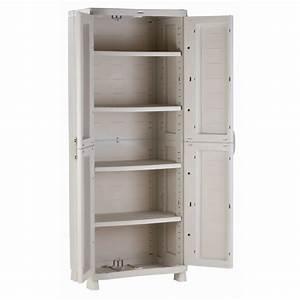 meuble de rangement exterieur plastique 4 maison With meuble de rangement bricolage
