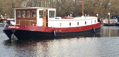 Latest Launches - Piper Boats   Dutch Barge Builders