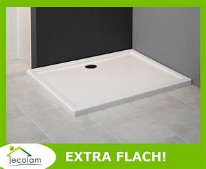 Duschwanne Flach Einbauen Ohne Füße : duschwanne duschtasse rechteck flach dusche acryl 80 90 ~ Michelbontemps.com Haus und Dekorationen