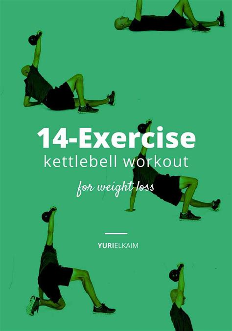 kettlebell workout exercises weight loss printable exercise plus body routine beginners