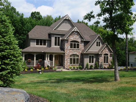 House Plans Stone Brick Exterior