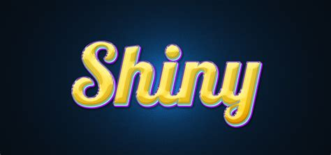 How to Create a Colorful and Shiny Text Effect in Adobe ...
