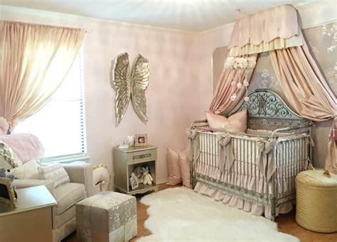 Harlow's Vintage Glam Blush Nursery  Project Nursery