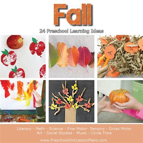 a year of preschool lesson plans bundle where 312 | Preschool Lesson Plans Fall Theme