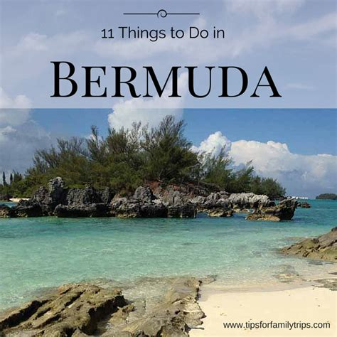 11 Fun Things To Do In Bermuda For Families  Tips For