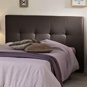 Tete Lit Capitonnée : t te de lit adulte capitonn e manon marron ~ Premium-room.com Idées de Décoration