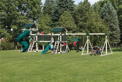 swing sets and playsets for sale best amish swingsets