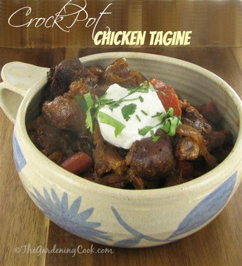 crock pot chicken tagine moroccan delight the gardening cook
