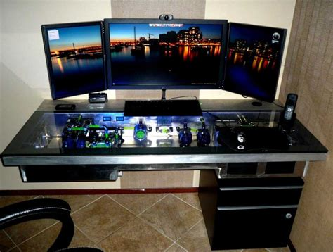 custom built gaming desk custom gaming desks custom gaming desk search diy gaming