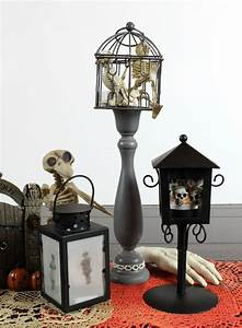 Battery Operated Picture Light Diy Spooky Halloween Lanterns