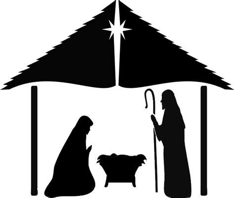 nativity stencil walltowallstencils - Nativity Scene Stencils