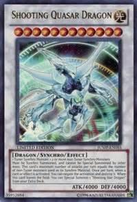 shooting quasar dragon legendary collection 5d s yugioh