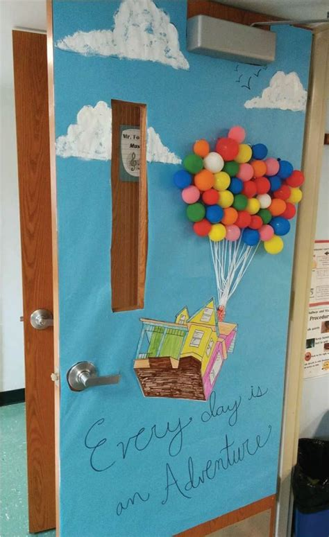 classroom door hot air balloon idea visited  times
