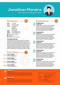 Creative professional curriculum citae template for Creative professional resume
