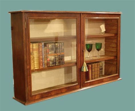 Antique Glased Wall Cupboard, Display Cabinet