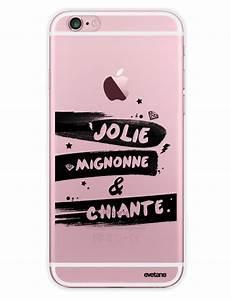 Coque Pour Iphone 6 : coque transparente jolie mignone chiante pour iphone 6 6s ~ Teatrodelosmanantiales.com Idées de Décoration