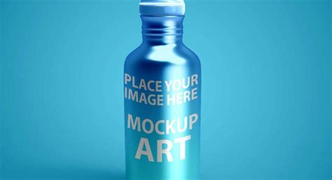 The featured smart object option enables you. Free Metal bottle mockup PSD Mockuphut Exclusive - Mockup Hut