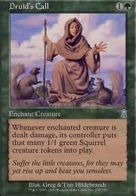 mtg squirrel deck edh acorn catapult cmd mtg card