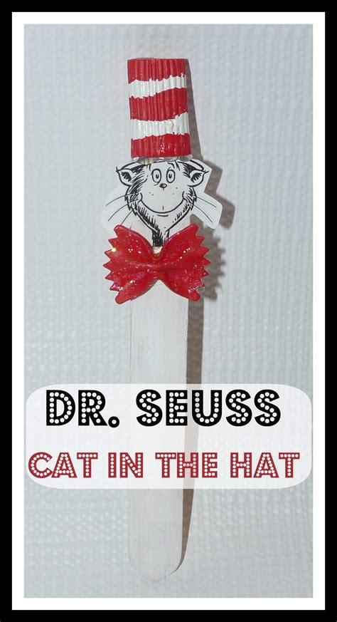 dr seuss cat   hat craft coris cozy corner