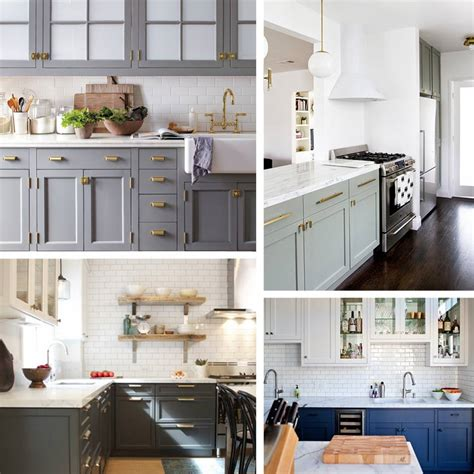 custom bathroom ideas kitchen trend painted cabinets and brass hardware