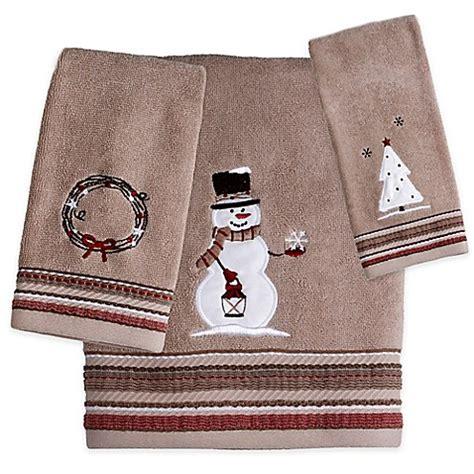 Rustic Christmas Hand Towel  Bed Bath & Beyond