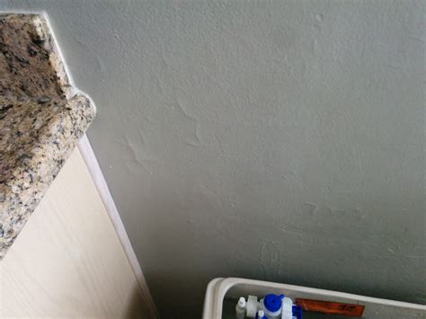 hairline cracks in bathroom ceiling paint with hairline cracks all bathroom drywall