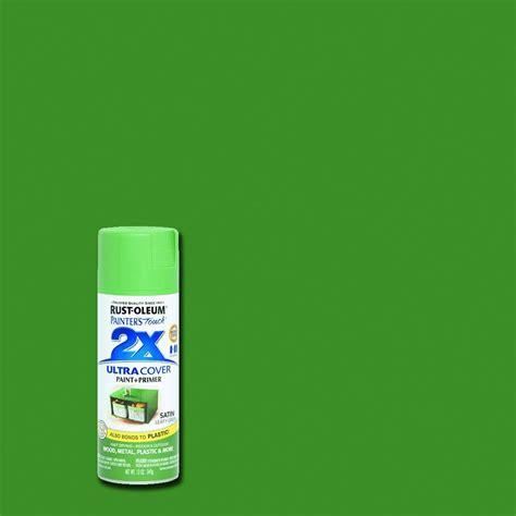 outdoor primer paint rust oleum painter 39 s touch 2x 12 oz satin leafy green
