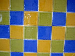 how to diy paint ceramic tile apartment therapy With how to paint ceramic tile in bathroom