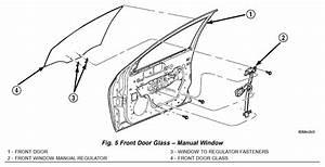 2002 Dodge Neon Removal Of Driver Side Window We Have Door