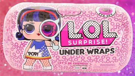 boneca lol capsula  wraps  surpresas original