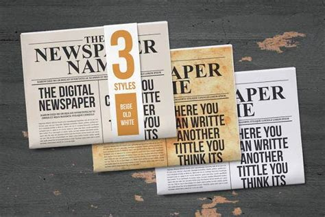 student newspaper templates word  psd indesign