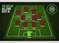 The Milan AllTime Best XI Football Whispers