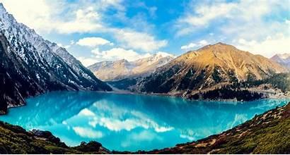Amazing Nature Wallpapers Views Lake Sky Almaty