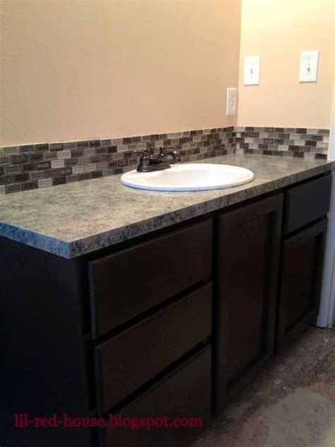 Bathroom Vanity Countertops Ideas by My 200 Bathroom Vanity Diy Makeover I Painted The