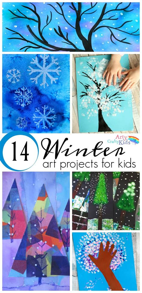 winter and craft ideas 14 wonderful winter projects for arty crafty 7327
