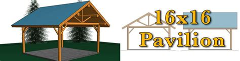 16x16 log pavilion meadowlark log homes