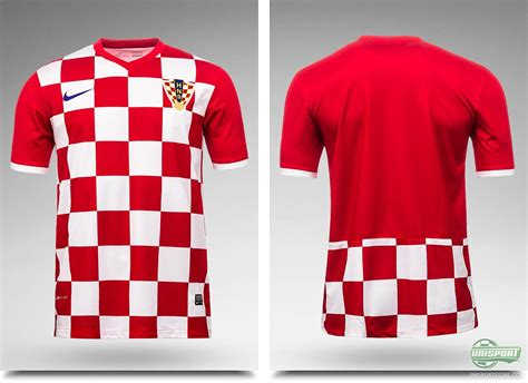 The Croatian World Cup Shirts Are Launched