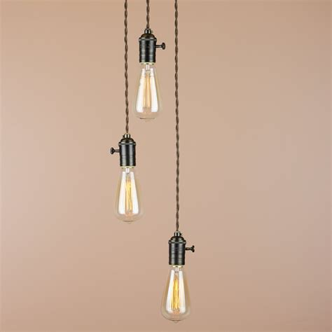 three light pendant chandelier 3 light chandelier cascading pendant lights by bluemoonlights