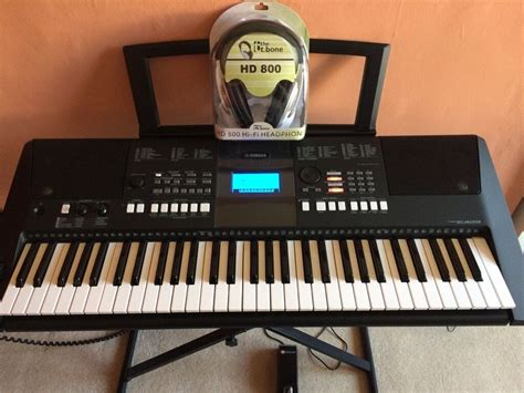 yamaha psr e423 yamaha psr e423 keyboard with accessories in east end glasgow gumtree