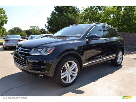 black volkswagen 2013 black volkswagen touareg vr6 fsi executive 4xmotion