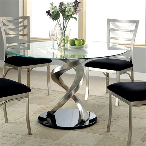 Bring modern sculpture designs to the dining room with