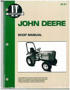 John Deere 655 755 756 855 856 955 Tractor Workshop Manual   Jd