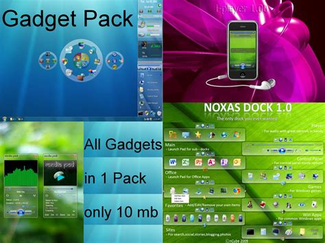 Gadget Style Pack By Dncube On Deviantart