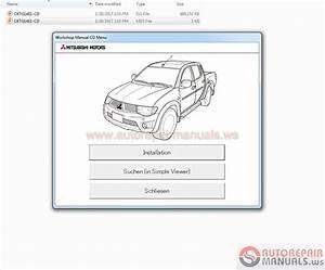 Mitsubishi L200 Ka4t  Kb4t 2014 Service Manual