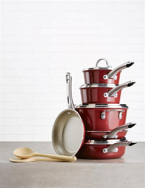 12pc ayesha curry cookware nonstick