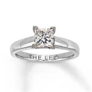 kays engagement ring jewelers style 161227703 white gold princess cut solitaire engagement ring